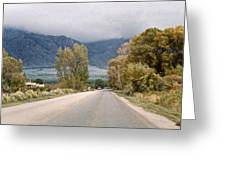 Taos Road Greeting Card