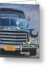 Taos Truck Greeting Card