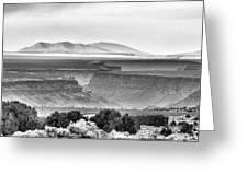 Taos Volcanic Plateau Greeting Card