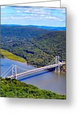 Bear Mountain Bridge 2 Greeting Card