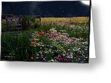 Tapestry In The Wild Greeting Card