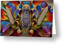 Tapestry Of Gods - Chicomecoatl Greeting Card