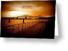 Tappan Zee Bridge I Greeting Card