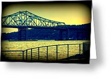 Tappan Zee Bridge II Greeting Card