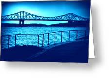 Tappan Zee Bridge Vii Greeting Card