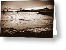 Tappan Zee Bridge X Greeting Card