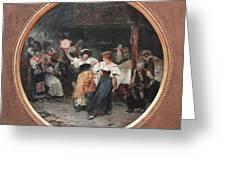 Tarantella Greeting Card