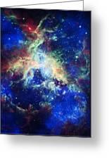 Tarantula Nebula 4 Greeting Card by Jennifer Rondinelli Reilly - Fine Art Photography
