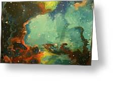 Tarantula Nebulae Greeting Card