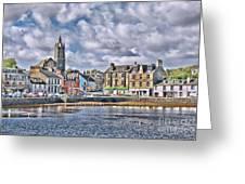 Tarbert -  Loch Fyne Greeting Card