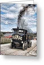 Tarmac Steam Wagon 1 Greeting Card