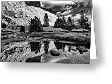 Tarn Reflection Greeting Card