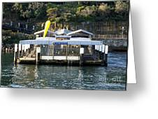 Taronga Zoo Wharf Greeting Card