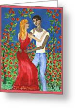 Tarot 6 The Lovers Greeting Card