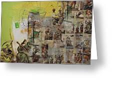 Tarot Card Set Greeting Card