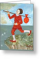 Tarot The Fool Greeting Card