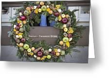 Tarpley Thompson Store Wreath Greeting Card