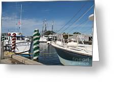 Tarpon Springs Fishing Boats  Greeting Card