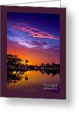 Tarpon Springs Glow Greeting Card