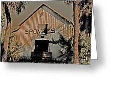 Tarpon Springs Warehouse Greeting Card