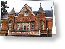Tarrytown Music Hall Greeting Card