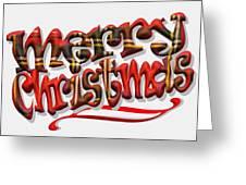 Tartan Merry Christmas Greeting Card