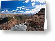 Tasman Mountains Of Kahurangi Np In New Zealand Greeting Card