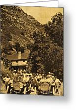 Tassajara Hot Springs Monterey County Calif. 1915 Greeting Card