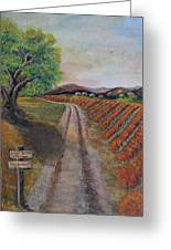 Tasting Room Greeting Card by Dixie Adams