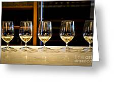 Tasting Wine Greeting Card by Elena Elisseeva
