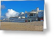 Tate Gallery St Ives Cornwall Greeting Card