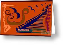 Tathadadhana Greeting Card by Meenal C