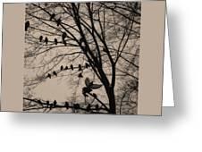 tathata #16NULLUS9 Greeting Card by Alex Zhul