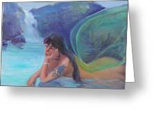 Tatoo Fairy Greeting Card by Gwen Carroll