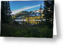 Tatoosh Peek Greeting Card