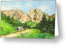 Tatry Giewont - Poland Greeting Card
