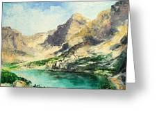 Tatry Mountains- Poland Greeting Card