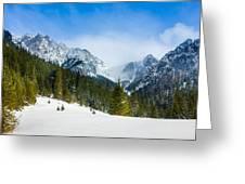 Tatry Greeting Card