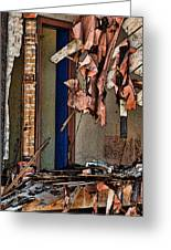 Tattered Greeting Card