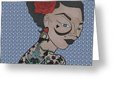Tattoo Chic Bubble 2 Greeting Card