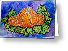 Tattoo Pumpkin Patch Greeting Card