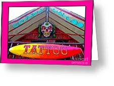 Tattoo Sign Digital Greeting Card