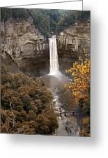 Taughannock Falls Park Greeting Card