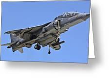 Tav 8b Harrier Jump Jet Greeting Card
