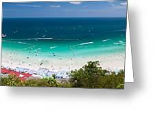 Tawaen Beach Greeting Card