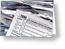 Tax Time  Greeting Card