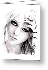 Taylor Momsen Greeting Card
