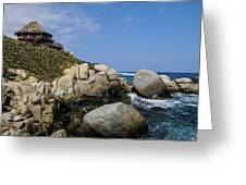Tayrona National Park Greeting Card