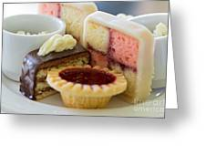 Tea Cakes Greeting Card