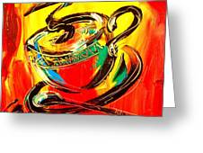 Tea Cup Greeting Card